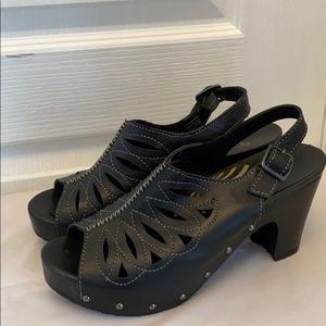 Dansko chunky heels